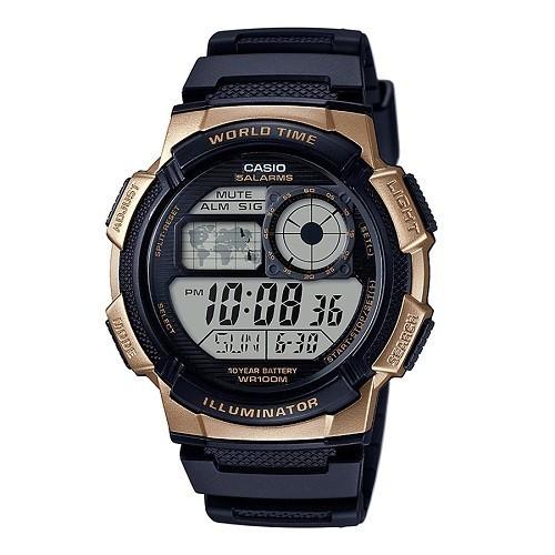 30 đồng hồ nam giá dưới 1 triệu, miễn phí thay pin trọn đời - Ảnh: AE-1000W-1A3VDF