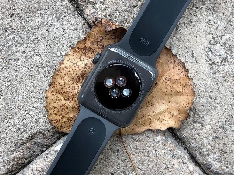 Đồng hồ Apple Watch series 3 38mm GPS màu đen chính hãng - Ảnh: 2
