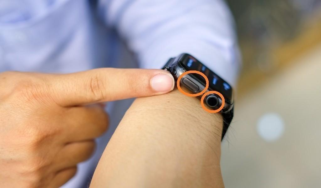 Đồng hồ Apple Watch series 3 38mm GPS màu đen chính hãng - Ảnh: 3