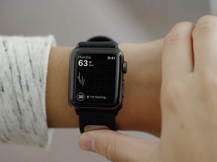 Đồng hồ Apple Watch series 3 38mm GPS màu đen chính hãng - Ảnh: 4