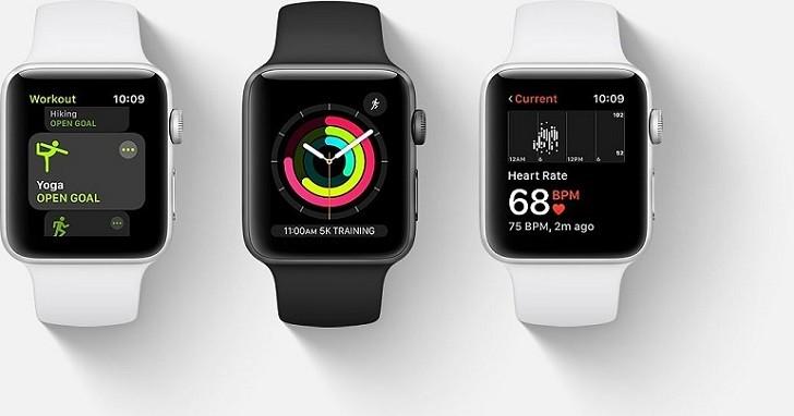 Đồng hồ Apple Watch series 3 38mm GPS màu đen chính hãng - Ảnh: 9