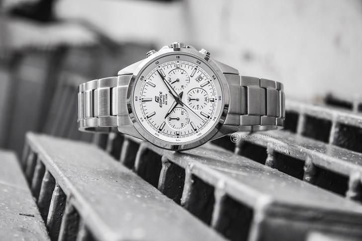 Đồng hồ Casio Edifice EFR-527D-7AVUDF wr100m, Chronograph - Ảnh: 5