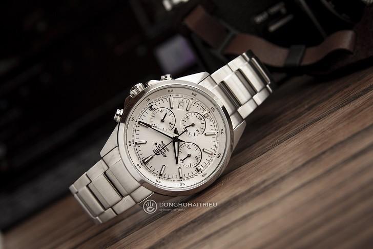 Đồng hồ Casio Edifice EFR-527D-7AVUDF wr100m, Chronograph - Ảnh: 6