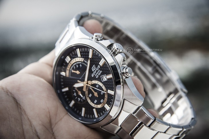 Đồng hồ Casio Edifice EFV-530D-2AVUDF chống nước 10ATM - Ảnh: 3