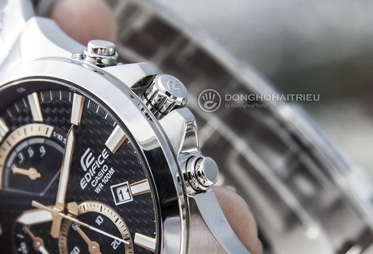 Đồng hồ Casio Edifice EFV-530D-2AVUDF chống nước 10ATM - Ảnh: 8