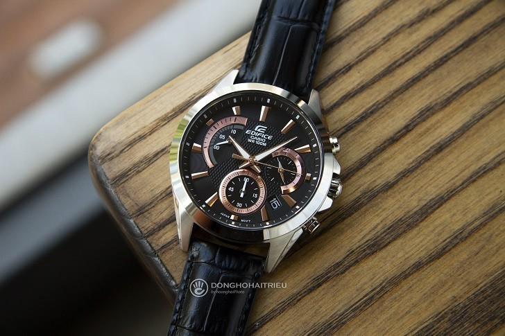 Đồng hồ Casio Edifice EFV-580L-1AVUDF chống nước 10ATM - Ảnh: 1