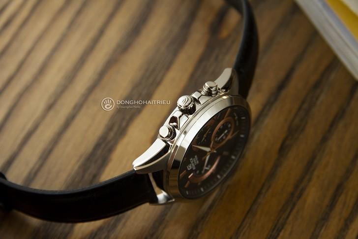 Đồng hồ Casio Edifice EFV-580L-1AVUDF chống nước 10ATM - Ảnh: 2