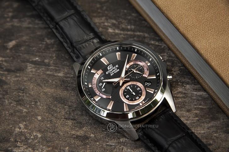Đồng hồ Casio Edifice EFV-580L-1AVUDF chống nước 10ATM - Ảnh: 5