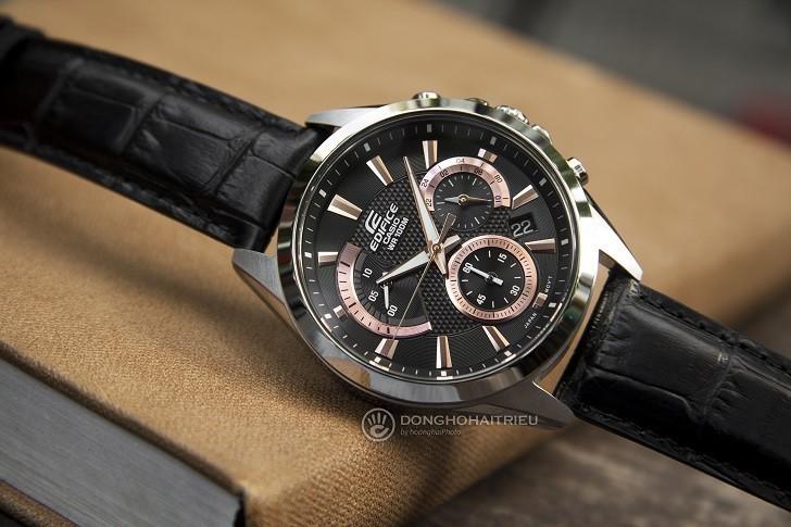 Đồng hồ Casio Edifice EFV-580L-1AVUDF chống nước 10ATM - Ảnh: 6