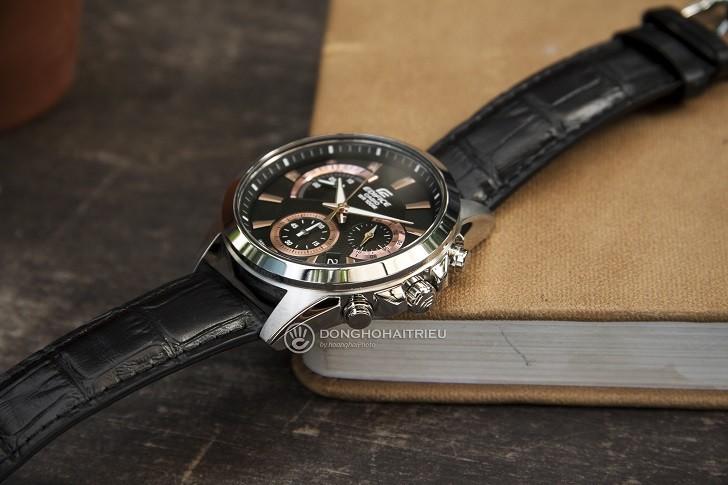 Đồng hồ Casio Edifice EFV-580L-1AVUDF chống nước 10ATM - Ảnh: 8