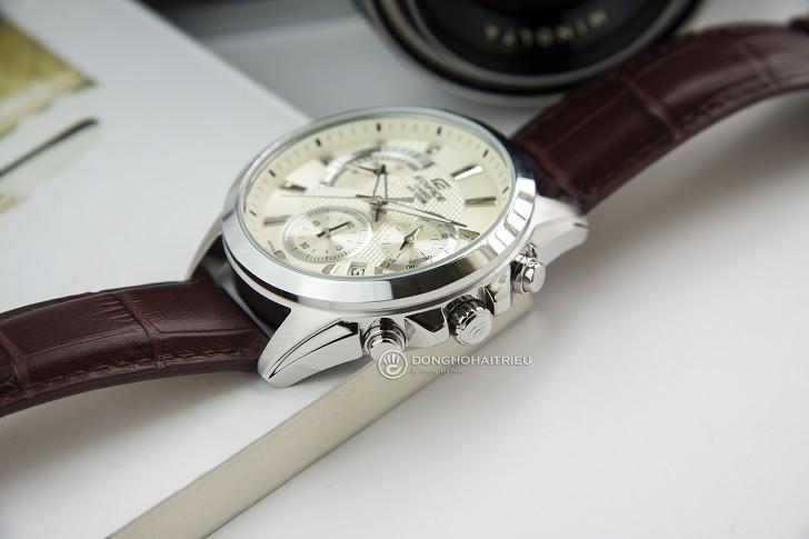 Đồng hồ Casio Edifice EFV-580L-7AVUDF wr100m, đi bơi được - Ảnh: 2