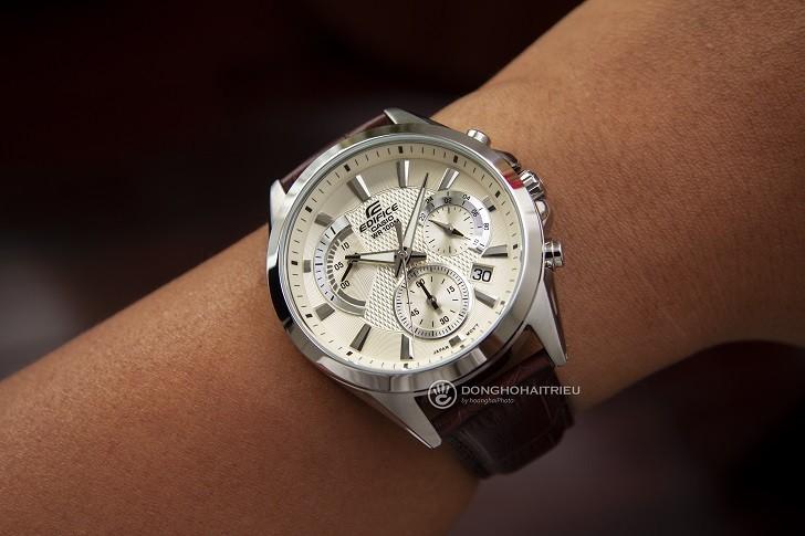 Đồng hồ Casio Edifice EFV-580L-7AVUDF wr100m, đi bơi được - Ảnh: 4