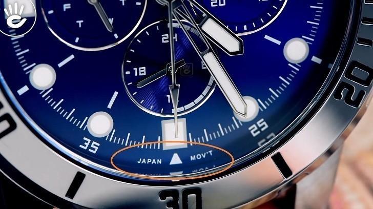 Đồng hồ Casio MTP-VD300L-2EUDF giá rẻ, ấn tượng mặt số xanh - Ảnh: 6