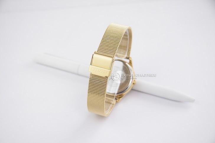 Đồng hồ Citizen EM0502-86P dây lưới, máy Eco-Drive sành điệu - Ảnh: 2