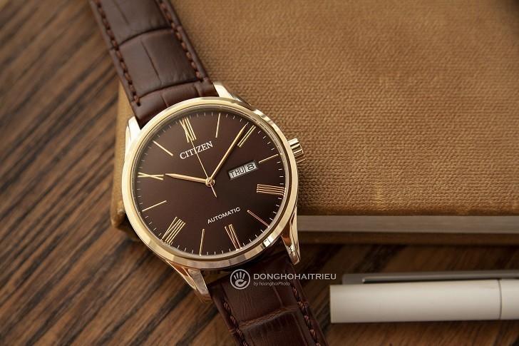 Đồng hồ Citizen NH8363-14X máy automatic, trữ cót 40 giờ - Ảnh: 1