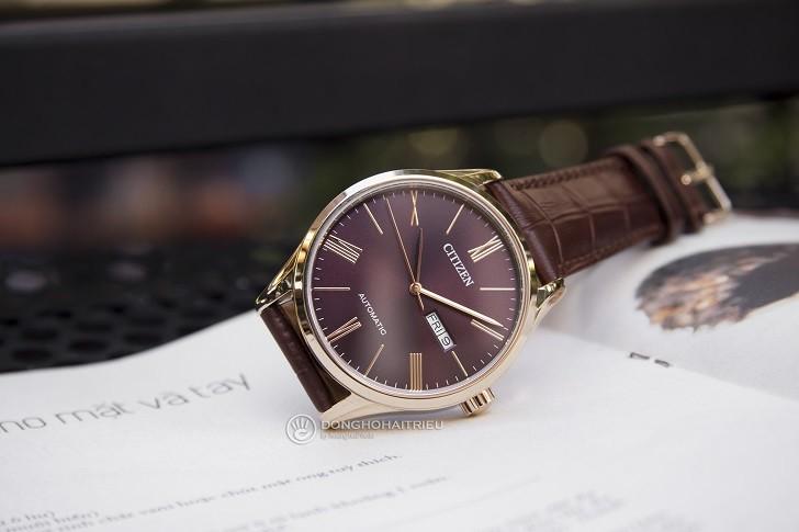 Đồng hồ Citizen NH8363-14X máy automatic, trữ cót 40 giờ - Ảnh: 3