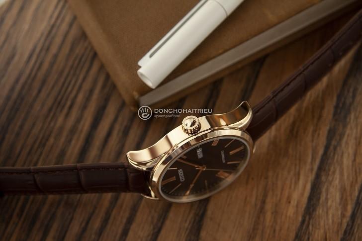Đồng hồ Citizen NH8363-14X máy automatic, trữ cót 40 giờ - Ảnh: 5