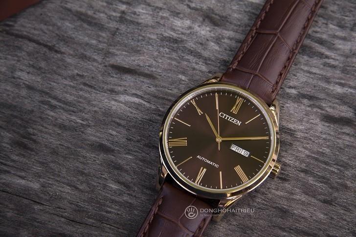 Đồng hồ Citizen NH8363-14X máy automatic, trữ cót 40 giờ - Ảnh: 6