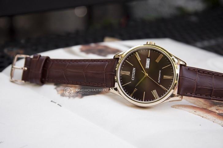 Đồng hồ Citizen NH8363-14X máy automatic, trữ cót 40 giờ - Ảnh: 8