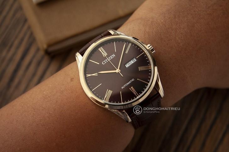 Đồng hồ Citizen NH8363-14X máy automatic, trữ cót 40 giờ - Ảnh: 9