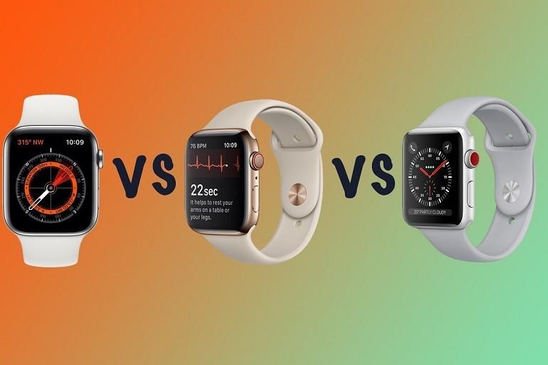 Đồng hồ Apple Watch Series 5 có mấy loại? - Ảnh: 20