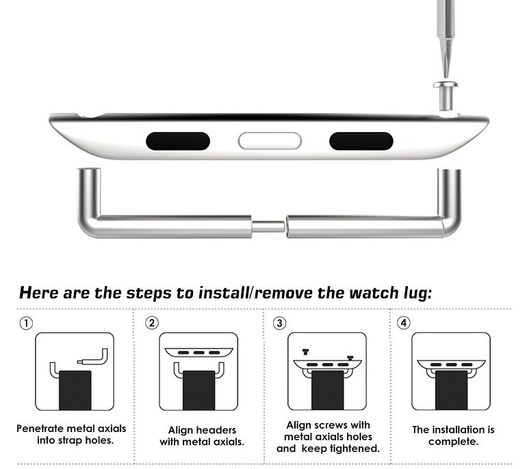 Hướng dẫn thay dây đồng hồ Apple Watch nhanh trong 30 giây - Ảnh: 13