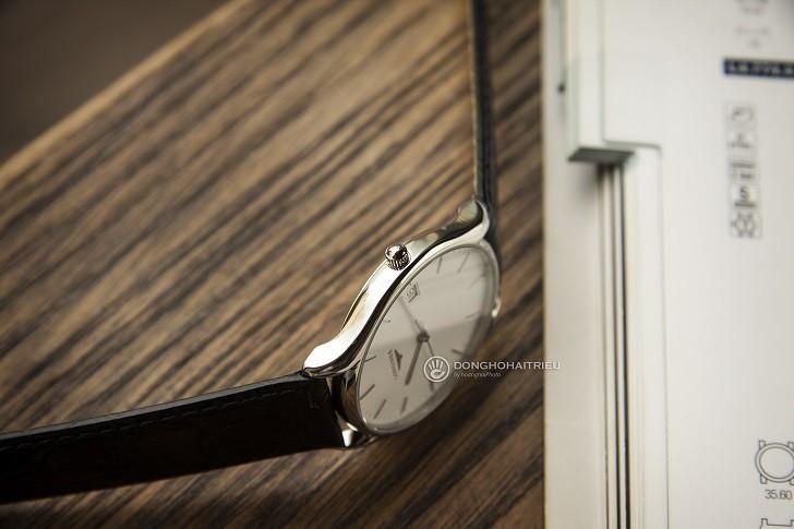 Đồng hồ Longines L4.759.4.12.2 siêu mỏng, máy swiss quartz - Ảnh: 1
