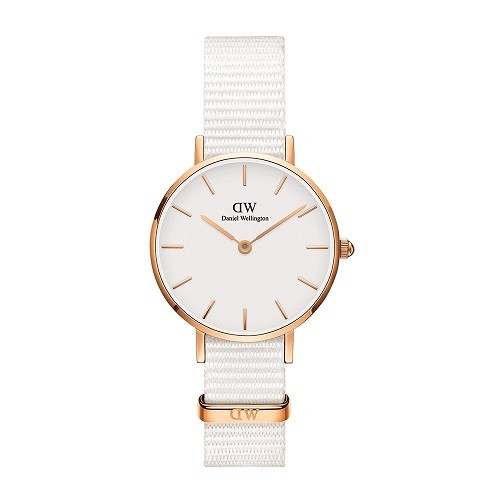10 mẫu đồng hồ nữ màu trắng đẹp, thời trang giá rẻ nhất - Ảnh: Daniel Wellington DW00100313