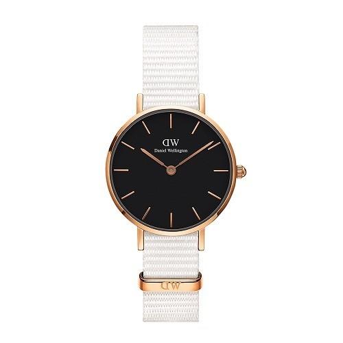 10 mẫu đồng hồ nữ màu trắng đẹp, thời trang giá rẻ nhất - Ảnh: Daniel Wellington DW00100314