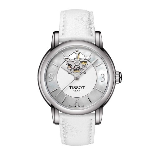 10 mẫu đồng hồ nữ màu trắng đẹp, thời trang giá rẻ nhất - Ảnh: Tissot T050.207.17.117.04
