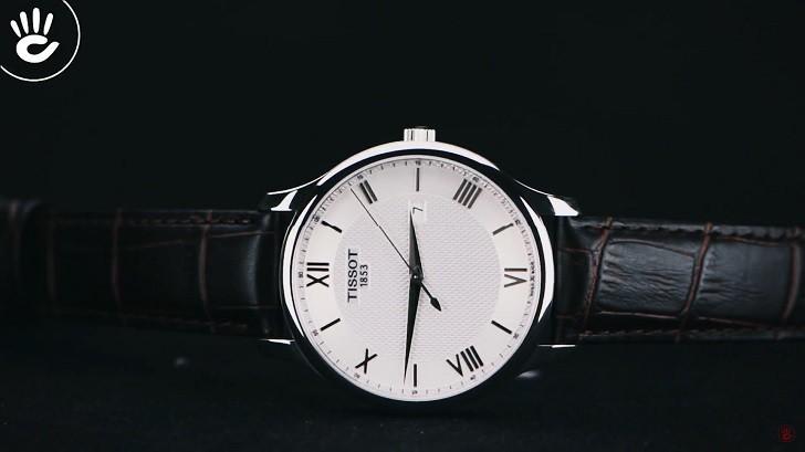 Đồng hồ Tissot T063.610.16.038.00 siêu mỏng, máy Thụy Sỹ - Ảnh 4