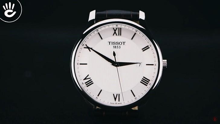Đồng hồ Tissot T063.610.16.038.00 siêu mỏng, máy Thụy Sỹ - Ảnh 5