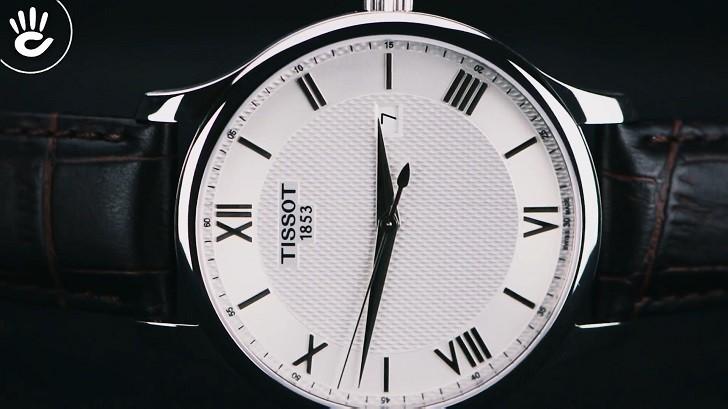 Đồng hồ Tissot T063.610.16.038.00 siêu mỏng, máy Thụy Sỹ - Ảnh 1