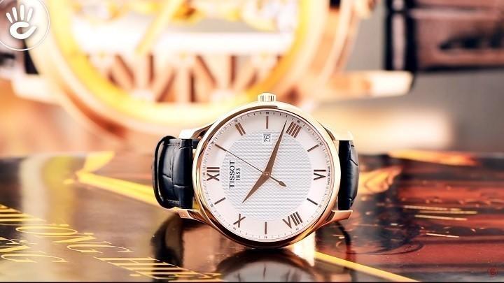Đồng hồ Tissot T063.610.36.038.00 siêu mỏng, máy Thụy Sỹ- Ảnh:1