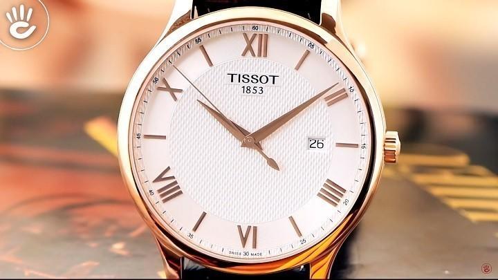 Đồng hồ Tissot T063.610.36.038.00 siêu mỏng, máy Thụy Sỹ- Ảnh:2