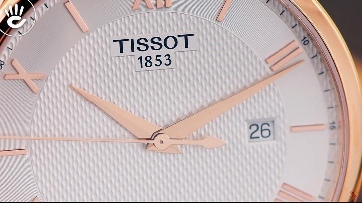 Đồng hồ Tissot T063.610.36.038.00 siêu mỏng, máy Thụy Sỹ- Ảnh:5