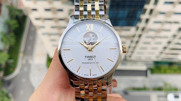 Đồng hồ Tissot T063.907.22.038.00 trữ có trong vòng 80 giờ - Ảnh 2