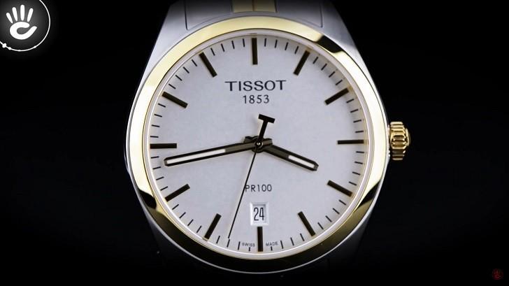 Đồng hồ nam Tissot T101.410.22.031.00 mạ vàng sang trọng - Ảnh: 4