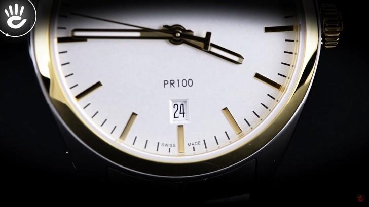 Đồng hồ nam Tissot T101.410.22.031.00 mạ vàng sang trọng - Ảnh: 5
