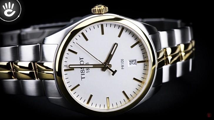 Đồng hồ nam Tissot T101.410.22.031.00 mạ vàng sang trọng - Ảnh: 1