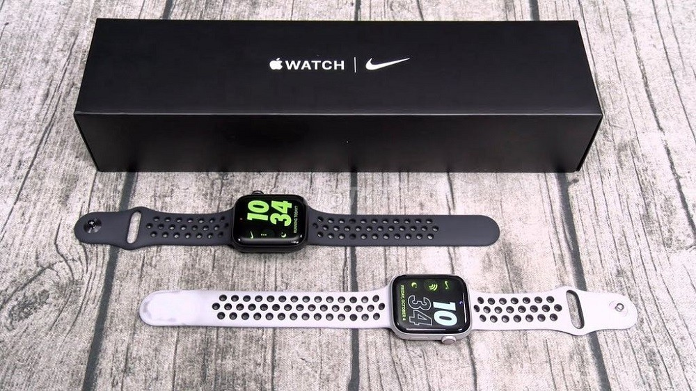 kham pha dong ho apple watch series 5 nike the he moi nhat