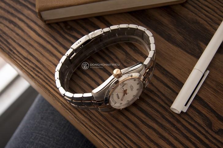 Đồng hồ Doxa D171RWH với 8 viên kim cương vô cùng đắt giá - Ảnh: 3