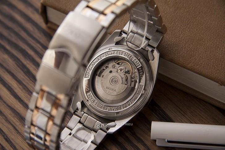 Đồng hồ Doxa D171RWH với 8 viên kim cương vô cùng đắt giá - Ảnh: 5