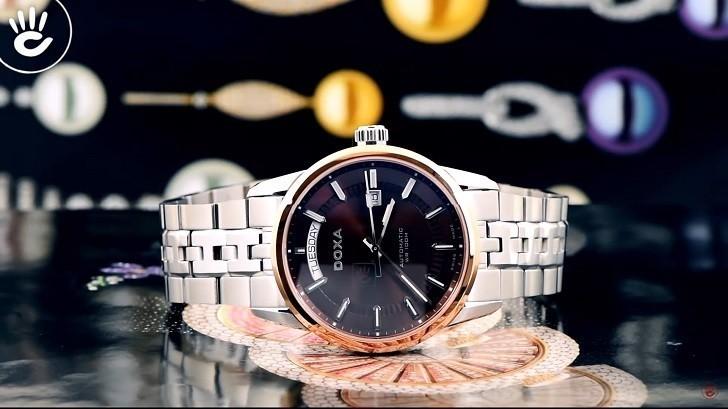 Đồng hồ Doxa D188RBR cao cấp, mang đậm phong cách cổ điển - Ảnh: 1