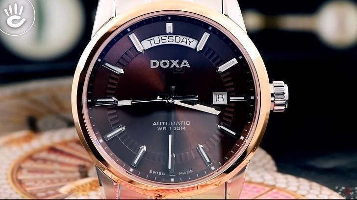 Đồng hồ Doxa D188RBR cao cấp, mang đậm phong cách cổ điển - Ảnh: 2