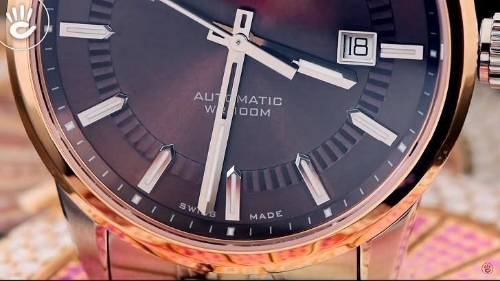 Đồng hồ Doxa D188RBR cao cấp, mang đậm phong cách cổ điển - Ảnh: 3