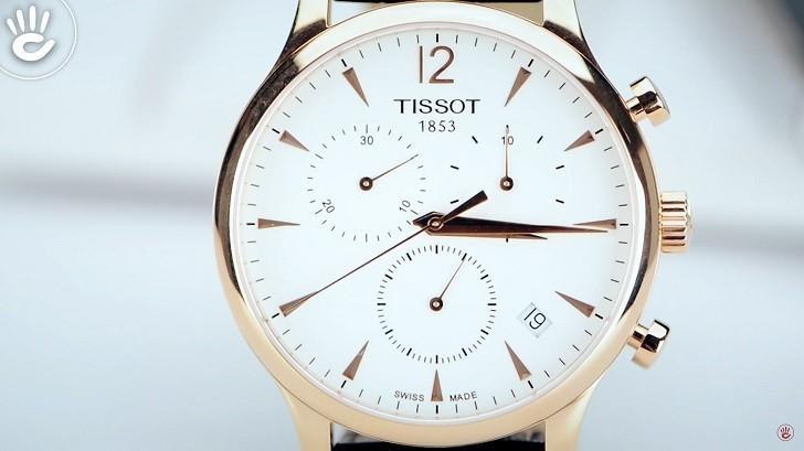 Đồng hồ Tissot T063.617.36.037.00 sở hữu bộ bấm giờ thể thao - Ảnh : 2