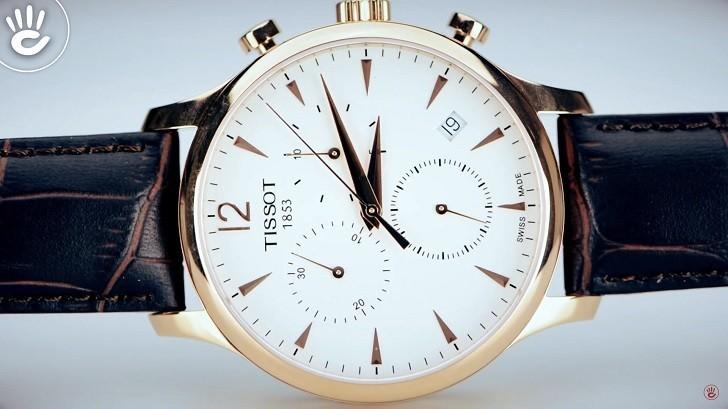 Đồng hồ Tissot T063.617.36.037.00 sở hữu bộ bấm giờ thể thao - Ảnh : 3