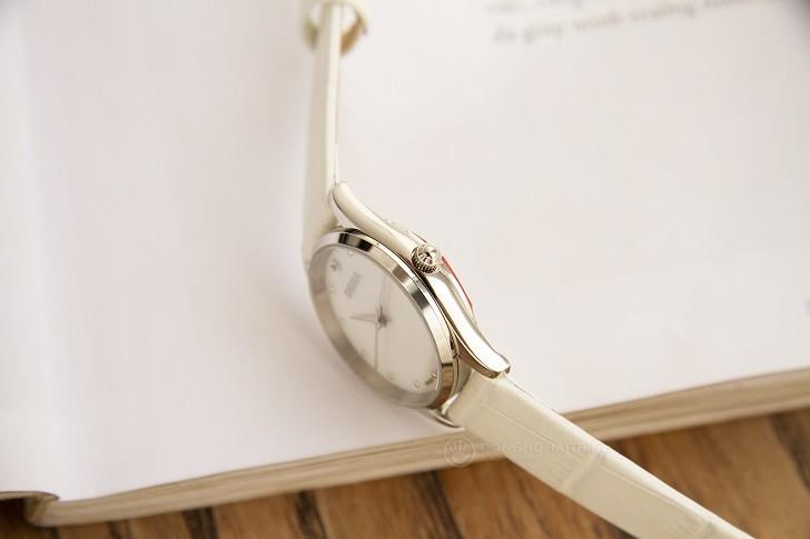 Đồng hồ nữ Doxa D204SWL với mặt số khảm xà cừ cao cấp - Ảnh: 4