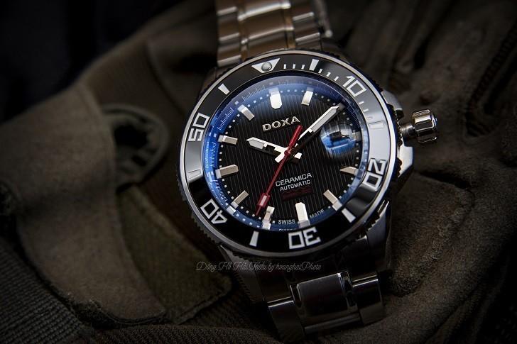 Đồng hồ Doxa D127SBUW - Siêu phẩm đồng hồ lặn 300 mét - Ảnh: 2